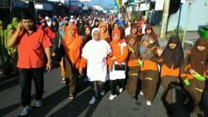Anak Asuh PARS mengikuti jalan sehat jelang Muktamar Muhammadiyah